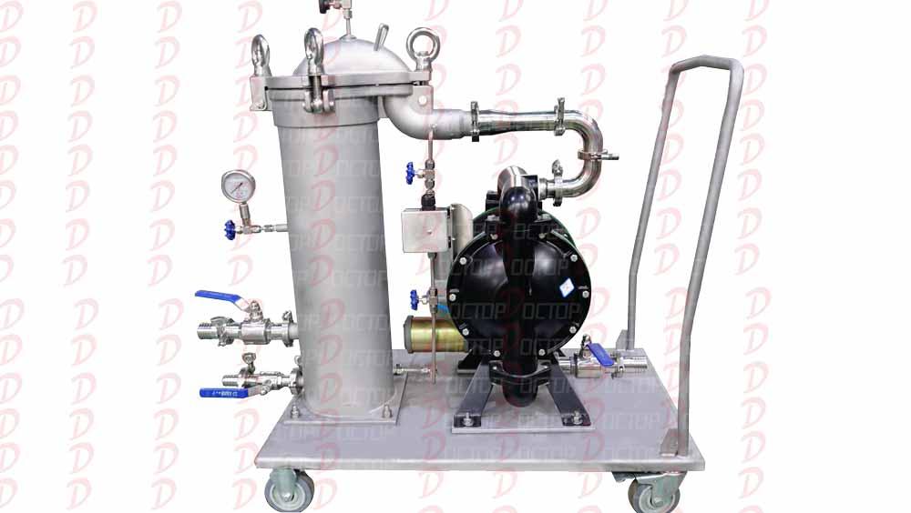 便捷式集成过滤组合推车(泵+过滤器推车组合系统)
